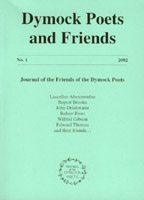Cover of the Friends of the Dymock Poets Journal